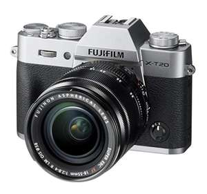 Price drop on Fujifilm XT20 + XF18-55 lens at Amazon for £889 (£799 after Fuji cashback)