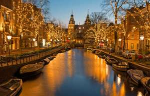 P&O ferries mini cruise break to Amsterdam, Rotterdam, Bruges from only £35 each.