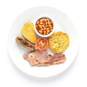Ikea 6 Item Breakfast Family Member Price now £1.75 & Caffe latte or Cappuccino​ only 50p ( tea and coffee free )