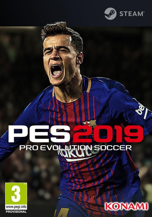 PES 2019 PC Steam Key £17.99 Gamesplanet