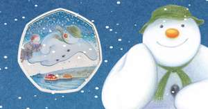 The Snowman Silver Proof Coin at Royal Mint (not online) for £80 delivered