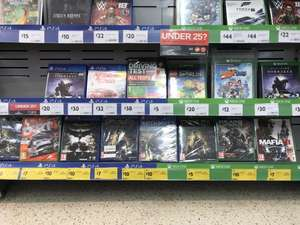 Range of PS4 & XBOX games reduced @ Morrison's - From; £5 upwards