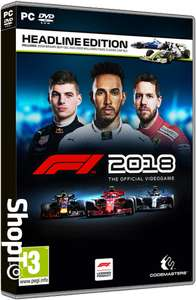 Formula 1 2018 (F1 2018) PC Disc Copy 24.85 from ShopTo.net