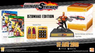Naruto to Boruto: Shinobi Striker Collectors Edition + Naruto 7th Hokage Costume & Master Costumer at Shopto for £49.85