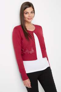 50% Off Selected Knitwear + Extra 10% Off w/code + Free Delivery @ Roman Originals eg Red Lace Detail Cardigan was £30 now £10.80 Delivered