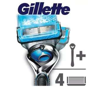 Gillette Fusion Proshield Flexball Chill Razor +3 Blades @ Superdrug £8.73