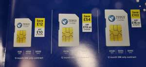 Tesco Mobile Black Friday Sims 20Gb for £16.50, potentially cheaper