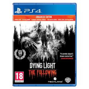 Dying Light: The Following Enhanced Edition (PS4) now £9.99 delivered @ Monster-Shop