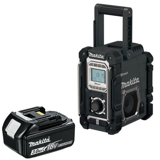 Makita DMR106B Bluetooth Radio + Free 3.0 Ah Battery- £113.96 @ Angliatoolcentre