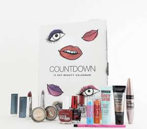 Countdown makeup advert  Calendar for her by Maybelline £37 @ Asos with free delivery
