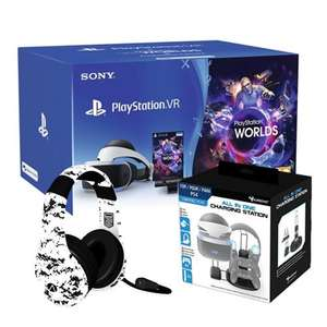 PSVR STARTER BUNDLE WITH STEALTH CONQUEROR GAMING HEADSET & SUBSONIC VR ALL IN ONE CHARGING STATION £209.99 delivered @ Monster Shop