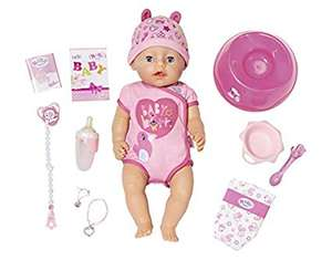 Baby Born 824368 Soft Touch-Girl with Blue Eyes Interactive Function Doll £29.06 @ Amazon