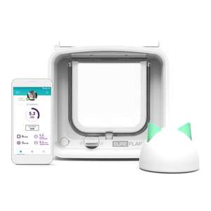 SureFlap Microchip Cat Flap Connect With Hub £103.04 with new customer code @ Ocado
