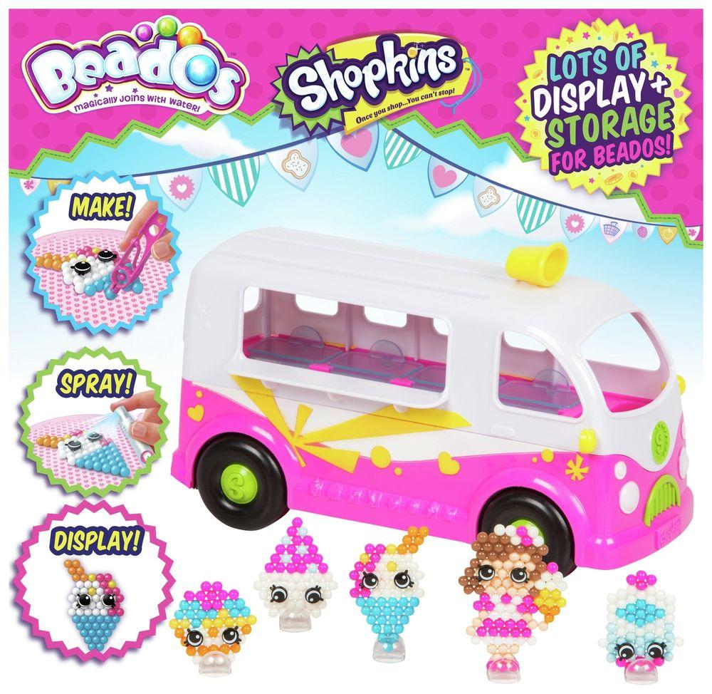 Beados Shopkins Ice Cream Van £10.99 @ Argos eBay free delivery