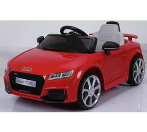 Audi TT RS 6V Battery Powered Ride On was £199.99 now £99.99 + 3 For 2 @ Argos