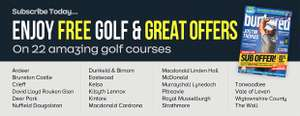 Bunkered Magazine (1 Year Subscription + free rounds of golf) £36 @ Bunkered