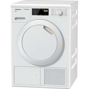 Miele TDB120WP 7kg Heat Pump Sensor Tumble Dryer in White 579.99 incl Delivery - Co-op Electical