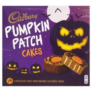 Cadbury Pumpkin Patch Cakes 4 Pack,  60p each / 2 For £1 @ Heron Foods
