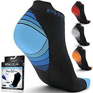 Physix Gear Compression Running Socks (6 Pairs) FREE? *Code Stack 50% Off + 70% Off (use Prime or £4.49 delivery)