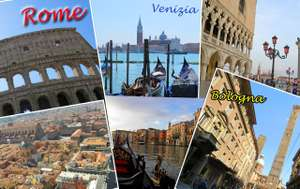 From Luton: Valentines Day Bologna, Venice & Rome Holiday 13-18 February £156.07pp @ Ebookers (£312.15)