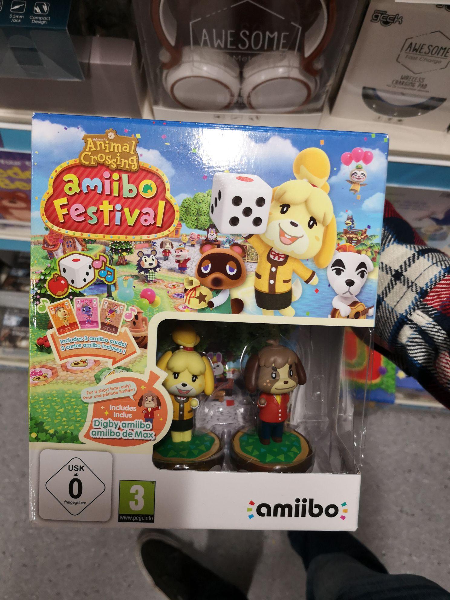 Animal crossing amiibo festival starter pack - £5 instore @ Poundland