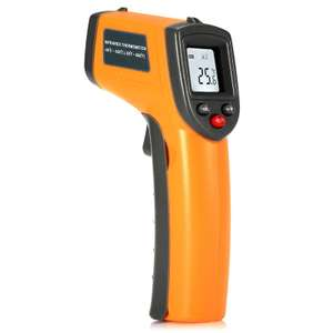 GS320 LCD Display Digital IR Infrared Thermometer with Data Hold - Yellow £4.22 delivered Delivered w/code @ RoseGal