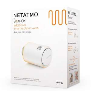 Netatmo TRV Additional Smart Radiator Valve - £54.99 delivered £5 less than I can find anywhere else @ The Electrical Showroom