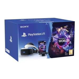 Sony PlayStation Virtual Reality Starter Pack with VR Worlds £199.99 at Hughes.co.uk with Click and Collect