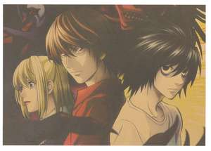 Death Note Poster (2 styles) 51.5 X 36cm only 82p delivered @ Tie Ler Online Store / Ali Express