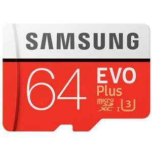 Samsung Evo Plus 64GB microSDXC Class 10 Memory Card £7.38 delivered w/code @ Dresslily