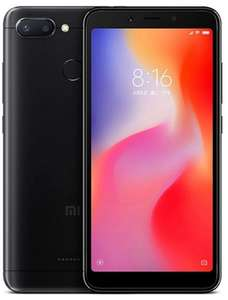 Xiaomi Redmi 6 4GB/ 64GB Dual Sim SIM FREE/ UNLOCKED - Black £104.49 (possibly £98.50 with voucher) delivered @ Eglobal central.
