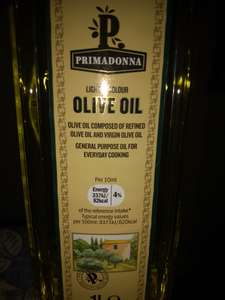 Free 1L Olive Oil with every £20 Purchase at Lidl