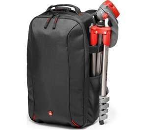 Manfrotto MB BP-E Essential DSLR Camera Backpack (Black) for £26.99 + Free delivery @ Ebay Currys