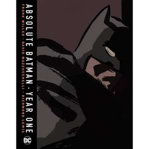 DC Comics Absolute Batman Year One Hardcover £35.98 & other DC graphic novels on offer @ Zavvi