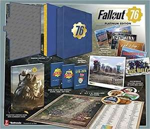 (Pre-order) Fallout 76: Official Platinum Edition Guide £32:99 @ A Great Read
