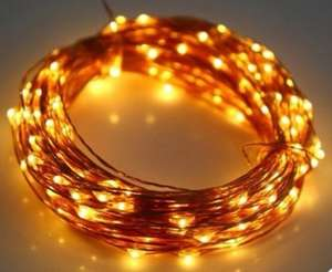 Be Quick - Very Cheap - Utorch 5m 50-LED Light Rope Decor - WHITE CLOWN 5m £0.89 @ Gearbest