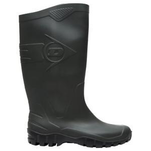 New Dunlop Men's Dane Wellingtons Walking Boots Green - £7.50 @ Millets-outdoors eBay