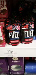 Fuel yoghurt breakfast 150g @ Homebargains for 29p