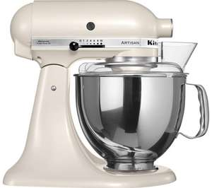 Kitchen Aid Artisan mixer in Cafe latte colour Was £549.99 now £274 at Currys