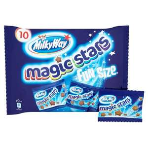 Milky way 10x12g fun size chocolate stars 69p in Tesco extra Bournemouth,  near Littledown