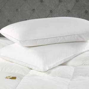 Julian Charles Pair Pillows (Hotel Luxe Medium Firm) 70% then 30% and free p&p (today only)