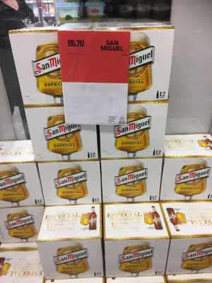 San Miguel 12x330ml £6.70 @ Cooperative