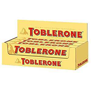 Toblerone Milk Chocolate 200 g each (Pack of 10 = 2kg ) £20 (or £17 if you max out Subscriptions) @Amazon UK
