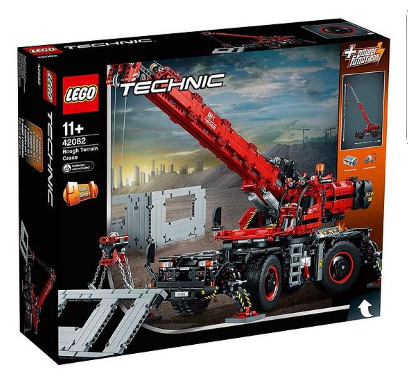Lego Technic 42082 Rough Terrain Crane £169.99 @ Very