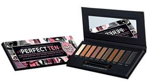 Soap & Glory The Perfect Ten Eye Shadow Palette £5 @ Boots Plus 3 for 2 - Free C&C