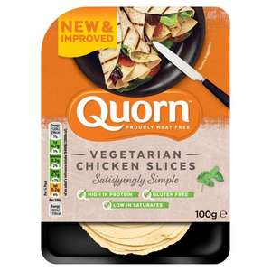 Quorn at Morrsons on offer £1 - sandwich slices, cocktail sausages