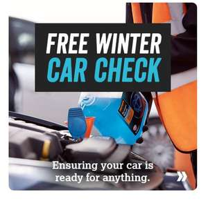 Book Now For Free Winter Car Check Back Halfords Halfords