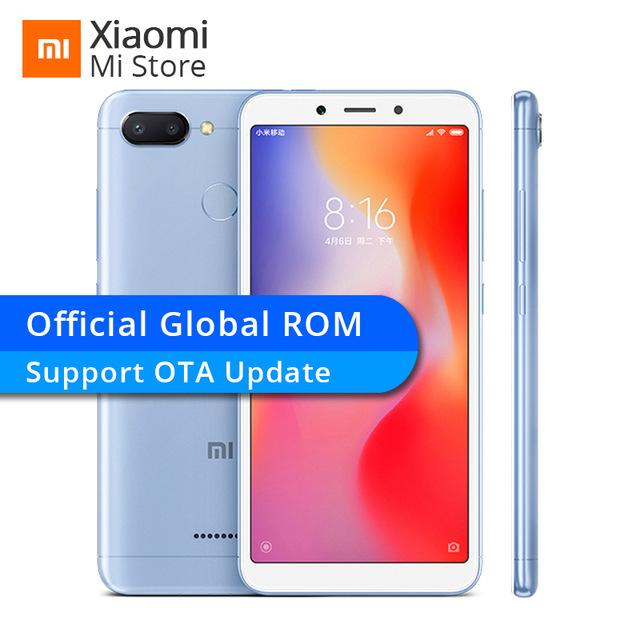 Global ROM Xiaomi Redmi 6 3GB RAM 32GB ROM Helio P22 Octa Core Cellphone for £88.14 Delivered @ Aliexpress (Xiaomi MI Store)