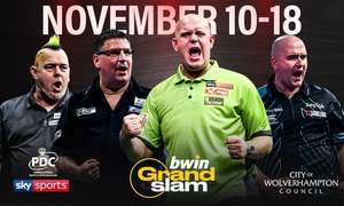 Grand Slam of Darts Tickets - Wolverhampton - Mon 12th to Fri 16th November 2018 - From £15 via Groupon