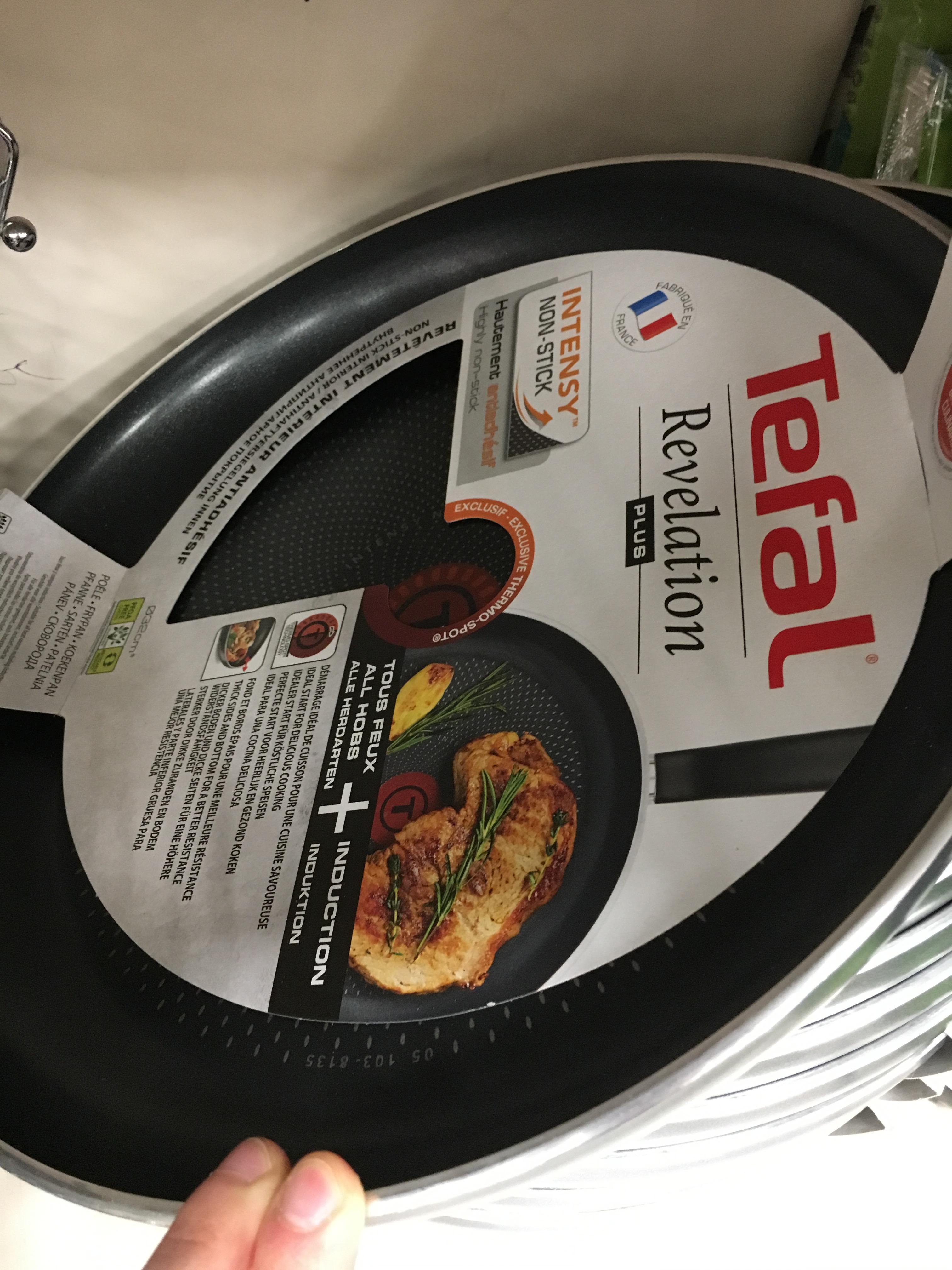 Tefal Revelation Plus Frying Pan 32cm £15.75 RRP £30 @ Sainsbury's London Cannon Street